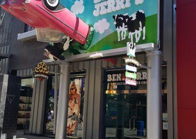 Ben & Jerry's Ice Cream Universal Studios City Walk