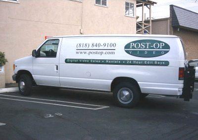 Post-Op Van