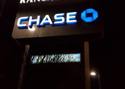 Rancho Plaza Pole Sign