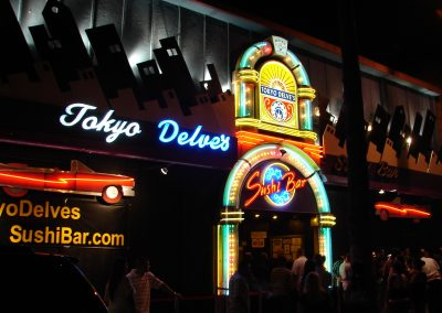 Tokyo Delves Sushi Bar